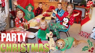 Alyssa's Annual Kids Only Christmas Party Skit!!
