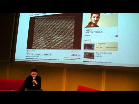 Conférence Le design Libre, par Christophe André