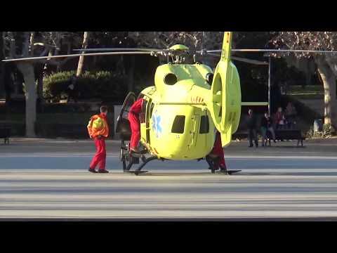 Влог Испания, Страшная Авария. Ужас. Вертолет Скорая помощь. Жертвы