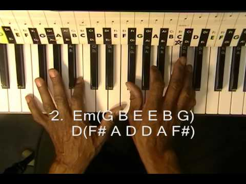 "Alicia Keys How To Play ""Fallin' "" On Piano Lesson In 5 Minutes Falling KoolPiano R&B"