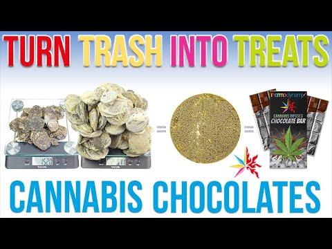 How to Make Cannabis Chocolates