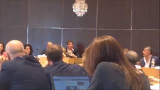 L'intervento di Domenico Conte e Anna Zaccheo alla conferenza stampa