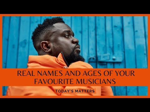 Real Names And Ages Of Your Favourite Ghanaian Musicians.#1