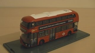 Corgi OM46610B New Bus For London Borismaster Model Bus Route 11 (1/76 scale) Review HD