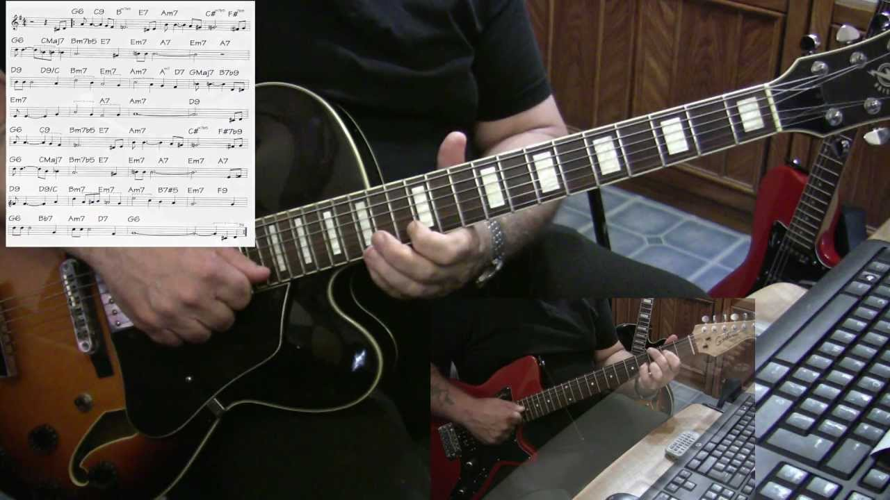 But Beautiful Guitar Jazz Cover Yvan Jacques Youtube