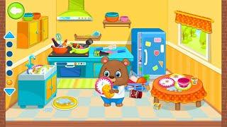 Let's Play • Sprzątanie domu • dla dzieci, Nauka codziennych obowiązków, bajki, Gry dla dzieci
