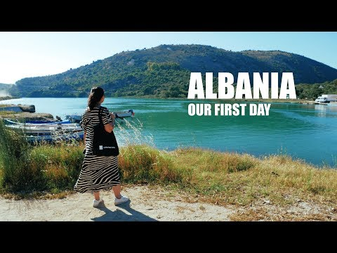 Arriving in SARANDA - Our First Day   Albania Travel Vlog