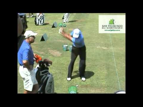 Tiger Woods Complete Range Session @ Torrey Pines US Open 2008 Awesome!