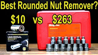 Best rounded nut and stud remover? Let's find out! Snap-on, Irwin, Gearwrench, Rocketsocket & more