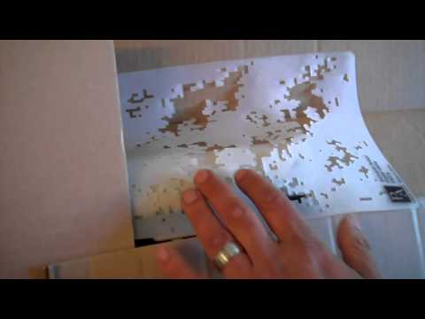 Primary Arms Digital camo stencil  How to Paint tutorial