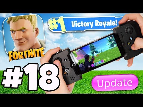CONTROLLER SUPPORT IS ADDED IN v3.4 FORTNITE MOBILE ANDROID / IOS APP?! - Fortnite Battle Royale #18