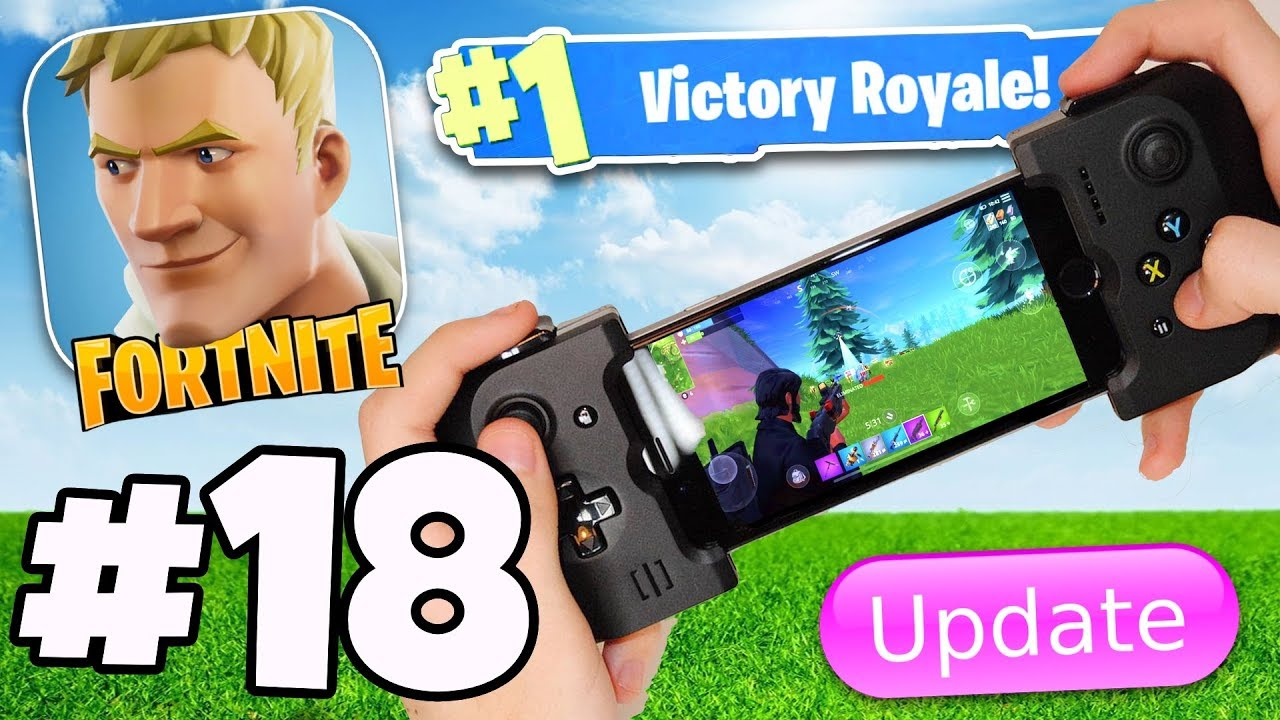 premium selection 8ed98 b8106 CONTROLLER SUPPORT IS ADDED IN v3.4 FORTNITE MOBILE ANDROID / IOS APP?! -  Fortnite Battle Royale #18