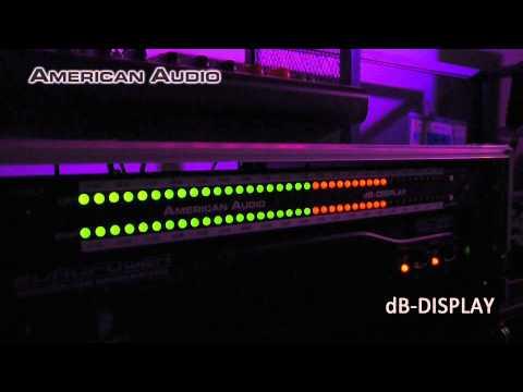 AMERICAN AUDIO / LEDデシベルディスプレイ dB-DISPLAY