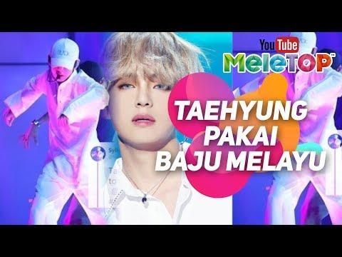 Demi minat Syahirah Adilla hantar Taehyung BTS baju melayu dari Malaysia   MeleTOP