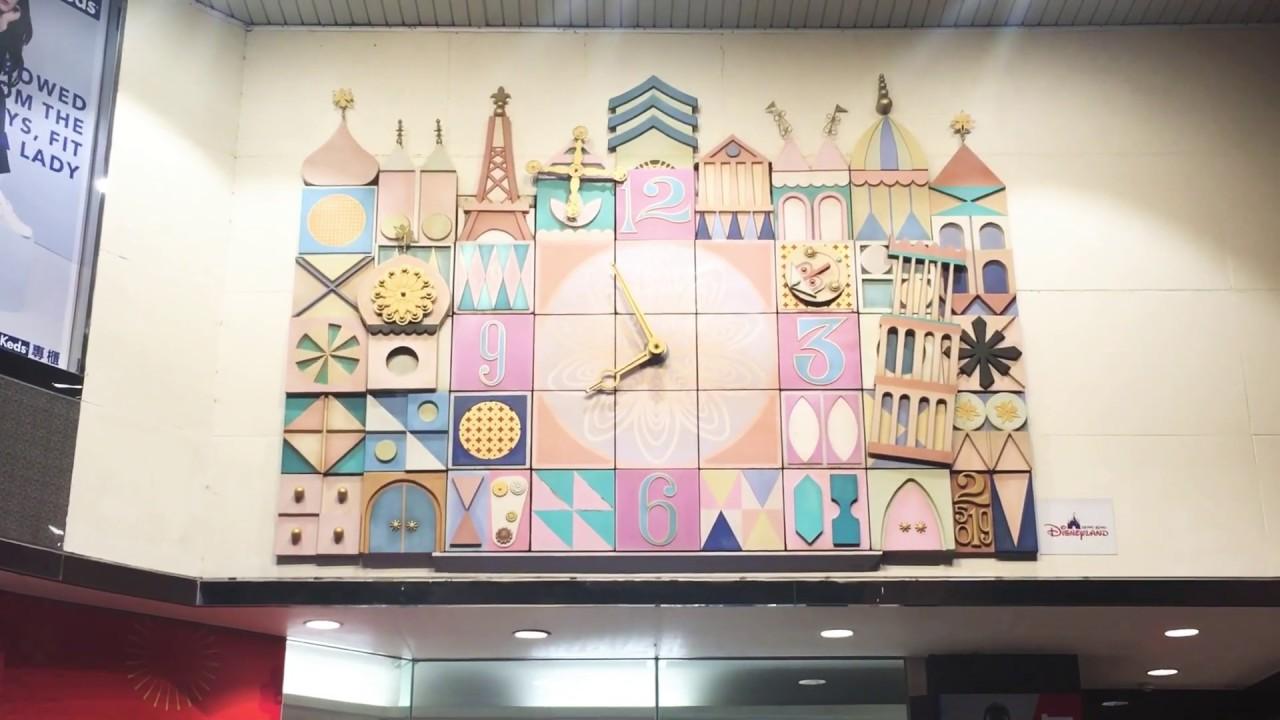 高雄そごう からくり時計「世界人形時計」