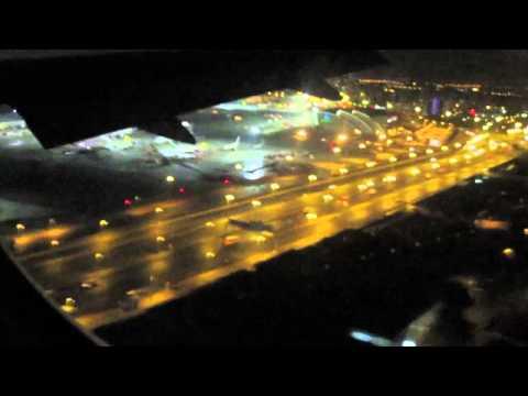 Landing in Dubai from Perth - EK421