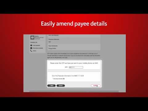 Santander Online Banking – Changing The Details Of People You Pay