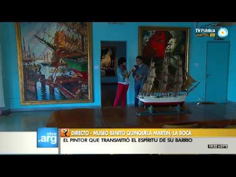 Vivo en Arg - Museo Benito Quinquela Martín 23-10-13 (2 de 4)