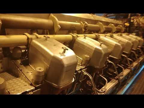 Commisioning test engine wartsila 18V50DF