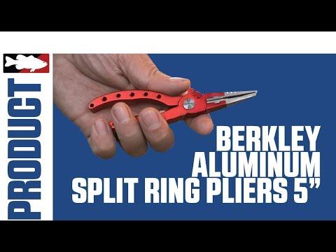 Berkley Aluminum Split Ring Pliers 5