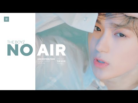 THE BOYZ -  NO AIR Line Distribution (Color Coded) | 더보이즈