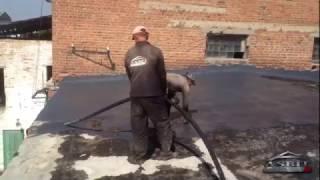 Технологія ремонту м'якої покрівлі мастикою Асбит