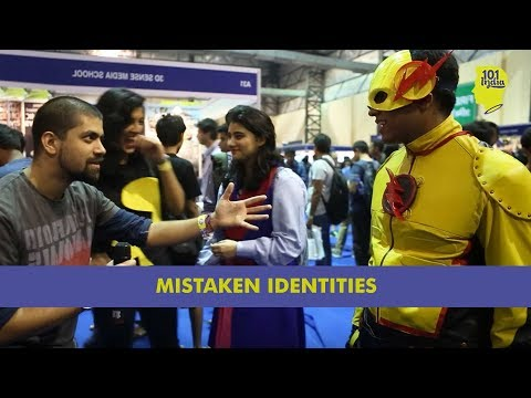 Mistaken Identities: Clueless Guy At ComicCon 2015 | Unique Stories from India