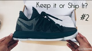 KEEP IT OR SHIP IT?   NikeLab KD X (10) Olive   Detailed Look