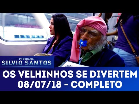 Os Velhinhos se Divertem | Câmeras Escondidas (08/07/18)
