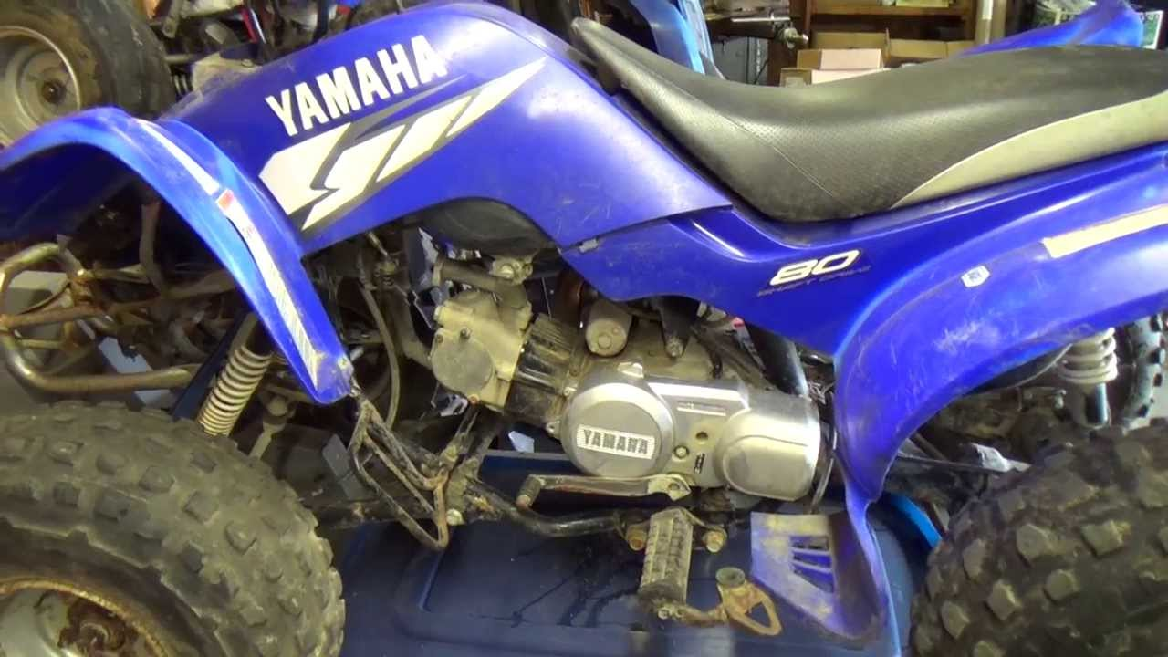 hight resolution of yamaha raptor 80 grizzly 80 and badger 80 on deck youtubegrizzly 80 wiring diagram