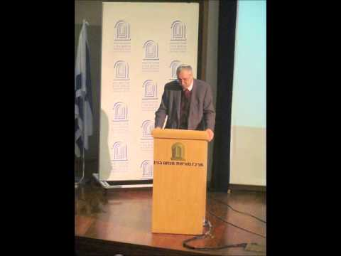 Prof. Gerald Steinberg, Middle East Forum, March 2011
