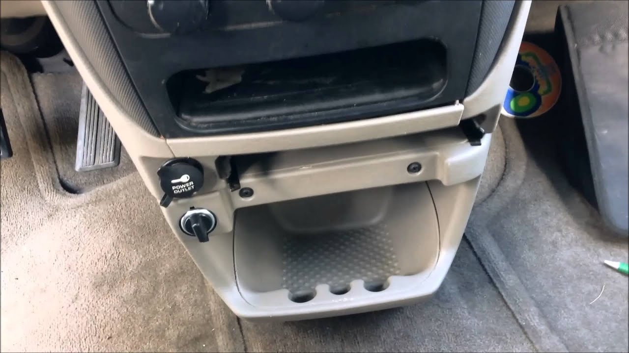 install a second 12v socket - dodge caravan