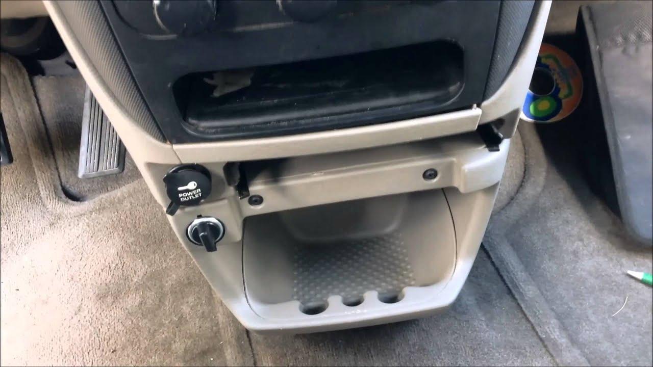 Caravan Radio Wiring Diagram Install A Second 12v Socket Dodge Caravan Youtube