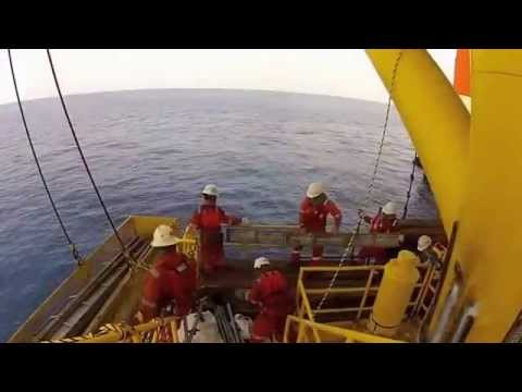 Offshore Platform Construction Topside Module Installation