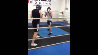 White Collar Boxing V Platinum Extreme sparring