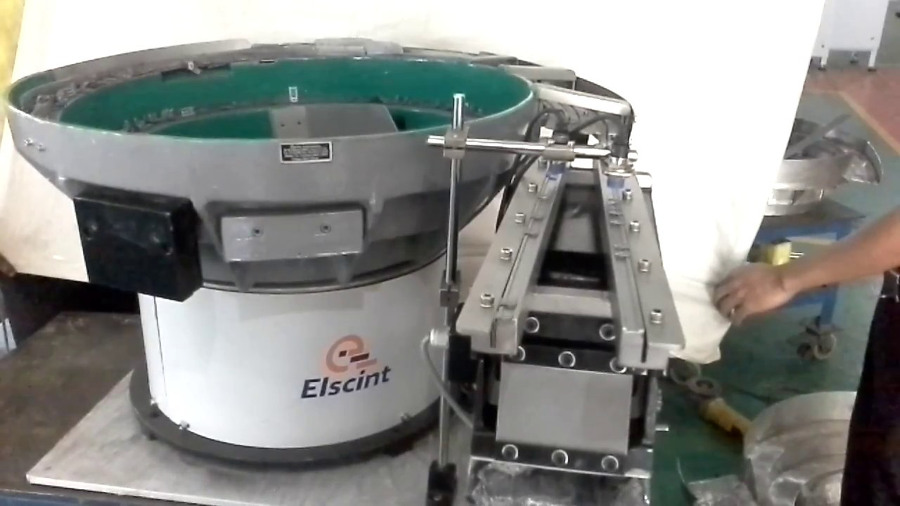 vibratory two for israel elscint feeding bowl parts metal watch feeder rows delivers in to