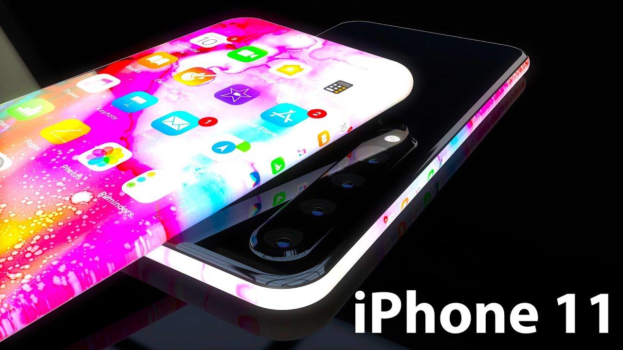 Apple Iphone 11 Concept Proposes Potential Edge Less Quad