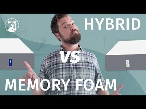 Memory Foam vs. Hybrid Mattress Which Is Best?