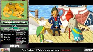 ZSR Marathon 2017 - The Legend of Zelda: Phantom Hourglass Any% by Hornlitz