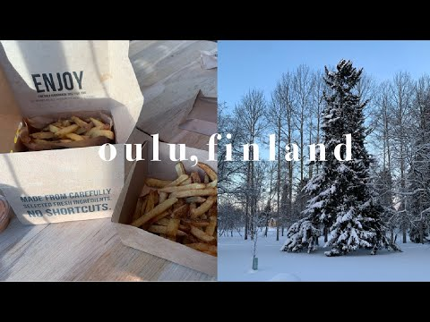 travel vlog | weekend trip to oulu, finland