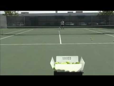 silent partner pro tennis machine