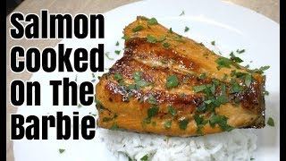 Marinated Salmon Cooked on the BBQ - Greg's Kitchen
