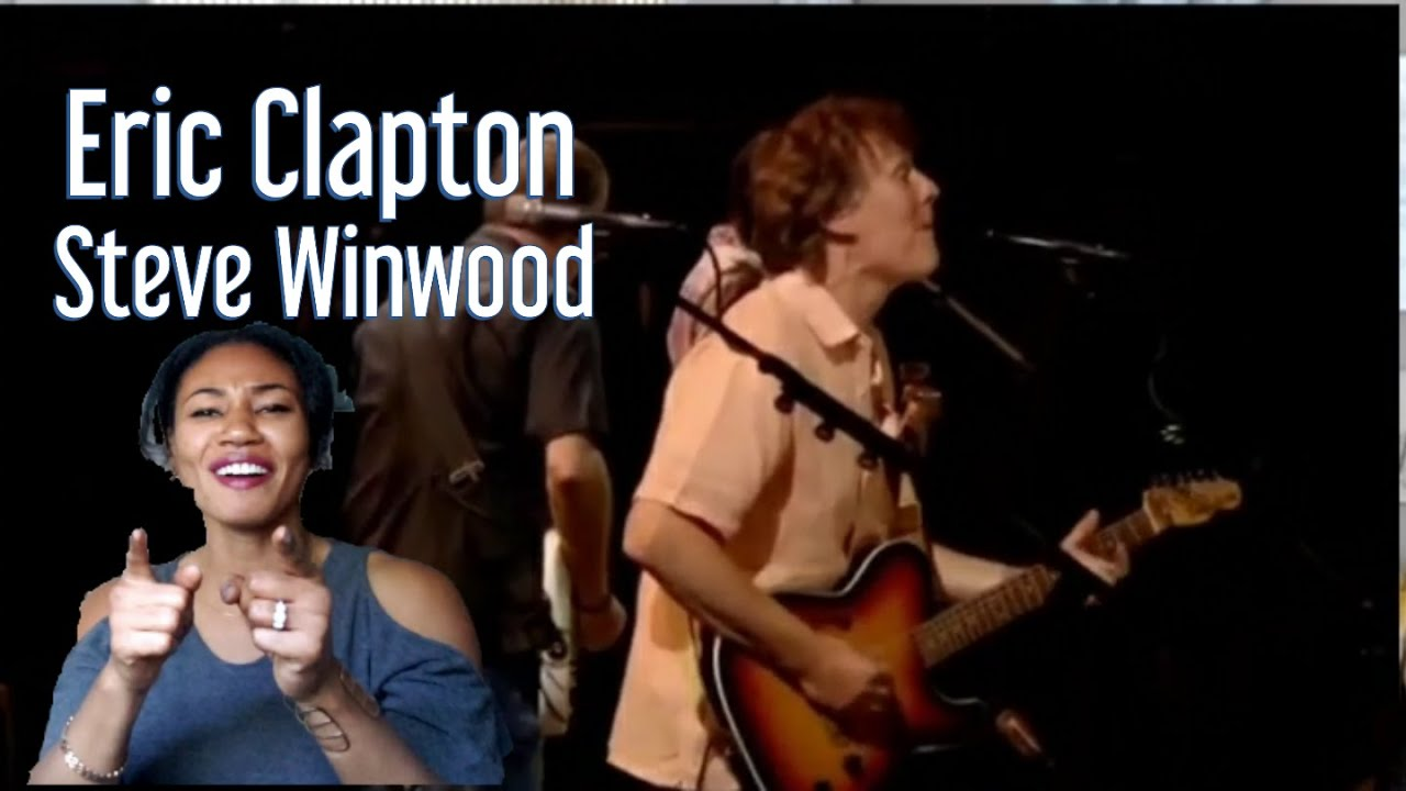 Eric Clapton &Steve Windwood (Cant find my way home )*REACTION*