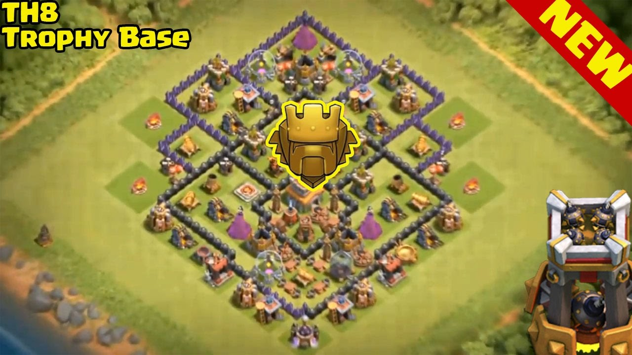 New  Th8 Trophy Pushing Base 2016 With Replays  Proof
