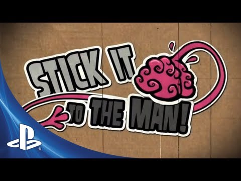 Stick It To The Man E3 Trailer | E3 2013