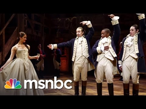 Off-Broadway 'Hamilton' Is A Smash Hit | All In | MSNBC
