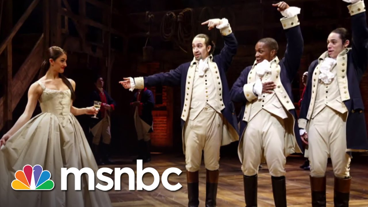 Off Broadway Hamilton Is A Smash Hit All In Msnbc