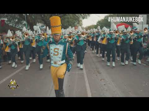 Human Jukebox Coming Down Napoleon Ave. in 4K | Bacchus 2020