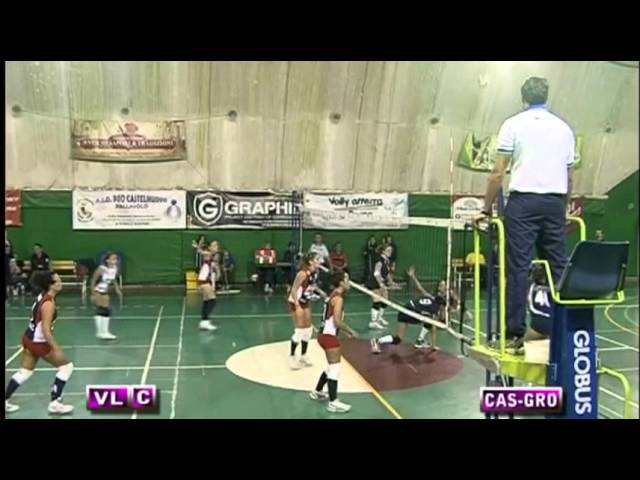 Pro Castelnuovo vs Volley Grottaferrata - 1° Set