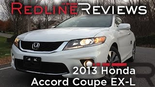 2013 Honda Accord Coupe EX-L Review, Walkaround, Exhaust, & Test Drive